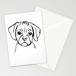Mini the puggle Stationery Cards