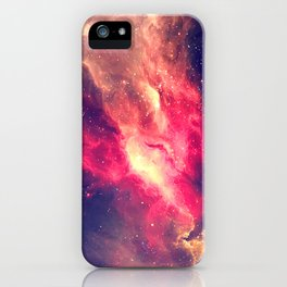 The Sky is on Fire iPhone Case