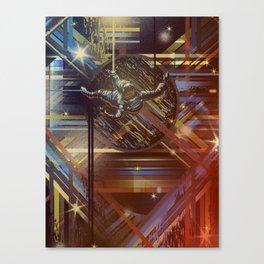 4D Space Canvas Print
