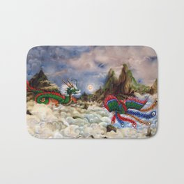 Dragon and Pheonix Bath Mat