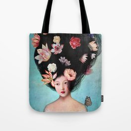 The Botanist's Daughter Tote Bag