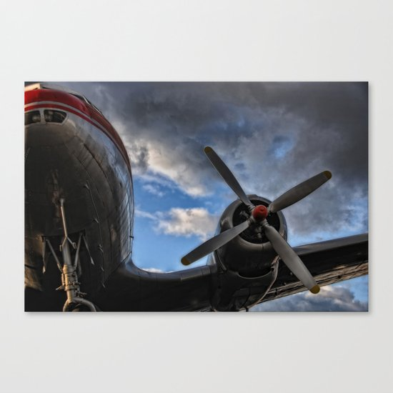 one day I'll fly away Canvas Print