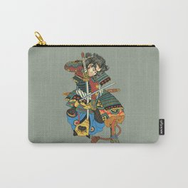 Samurai and Pug Carry-All Pouch