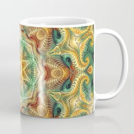 Flower Of life Mandala (Sunny Garden) Coffee Mug
