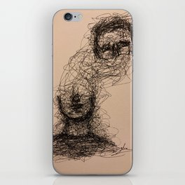 Detached iPhone Skin