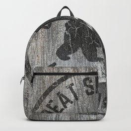 Great Smoky Mountains National Park Vintage Wood Sign Backpack