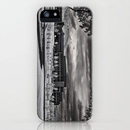 As the Clouds Roll in iPhone Case
