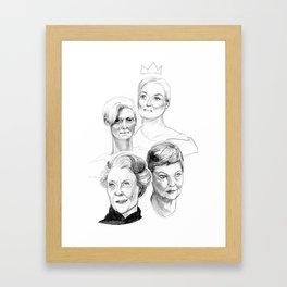 Grand Dames Framed Art Print