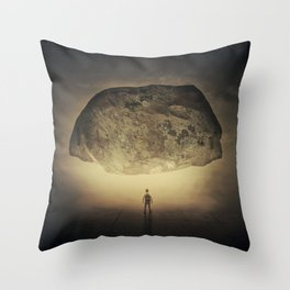 pressure of the unknown Throw Pillow