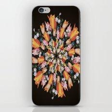 Flemish Floral Mandala 2 iPhone & iPod Skin