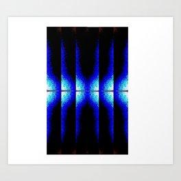 13.oto REtro MOguls suMO AttenTIOn BLUe ARRivals  Art Print