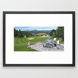 Par 5 Framed Art Print