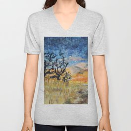 Boise Foothills no. 1 Unisex V-Neck