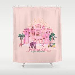 Patrika Gate Jaipur Shower Curtain