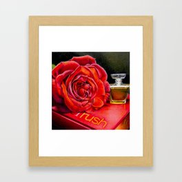 Love Rush Framed Art Print
