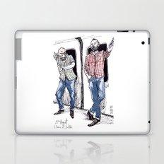 Urban Lumberjacks by Kat Mills Laptop & iPad Skin