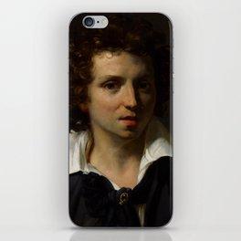 "Théodore Géricault ""A Portrait Of A Young Man"" iPhone Skin"