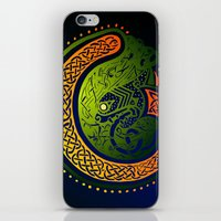 irish iPhone & iPod Skins featuring Irish Twist by Alan Hogan