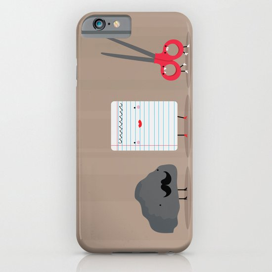 Rock paper scissors iPhone & iPod Case
