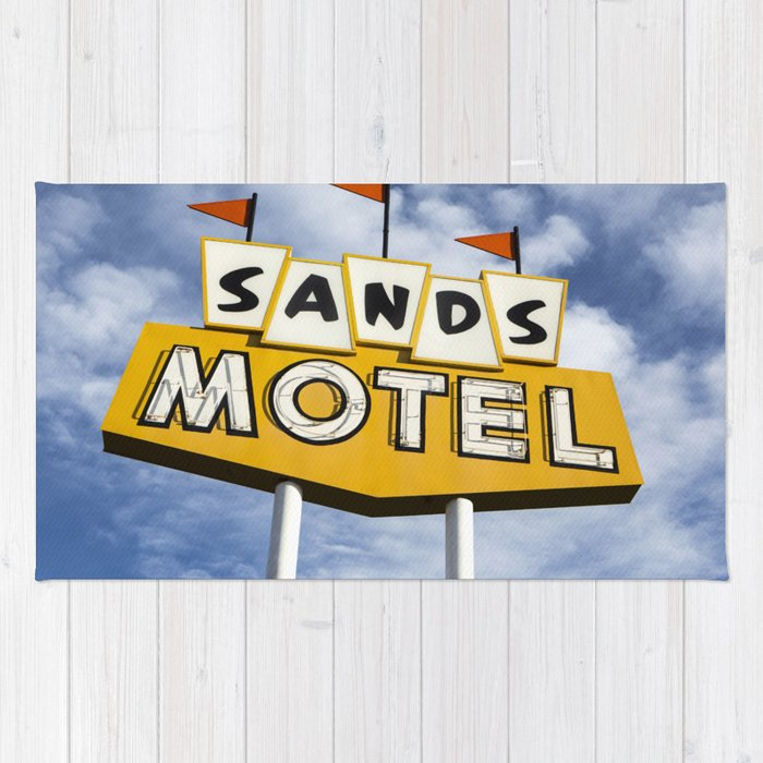 Sands Motel Rug