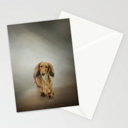 It's Showtime Baby - Dachshund Stationery Cards