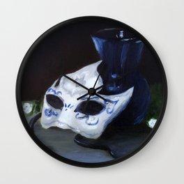 Masked Wall Clock