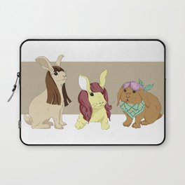 Hares In Wigs Laptop Sleeve