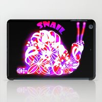 snail iPad Cases featuring Snail by VirgoSpice