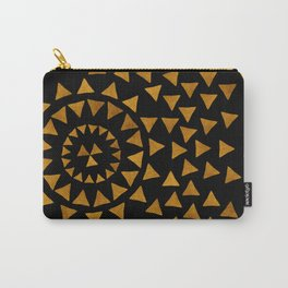Dark Sun - Gold and Black Carry-All Pouch