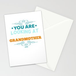 Gift for the best Grandma Stationery Cards
