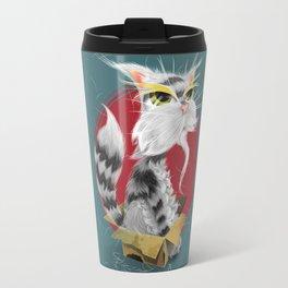 PAW MEI - The Wise Cat Travel Mug
