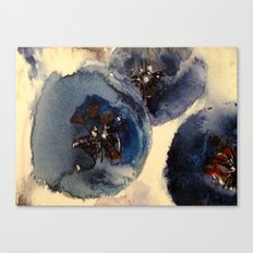 Bluberries Canvas Print