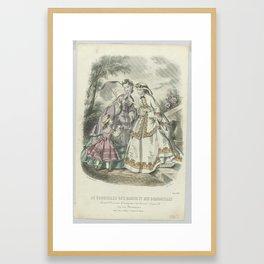 Le Conseiller des Dames et des Demoiselles, juin 1862 Journal d economie..., Anonymous, A. Leroy, 18 Framed Art Print