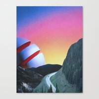 trip Canvas Prints featuring Trip by Djuno Tomsni