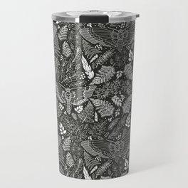 Death's-head Hawkmoth in an Enchanted Forest Travel Mug
