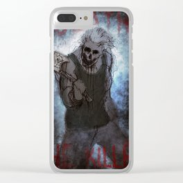 Death The Killer Clear iPhone Case