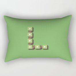 The Letter L Rectangular Pillow
