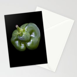Green Pepper Stationery Cards