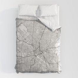 Dallas Map Line Comforters
