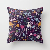 poetry Throw Pillows featuring Poetry by Taylor Shannon