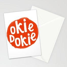 Okie Dokie Gramps Stationery Cards