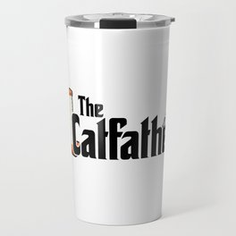 The Catfather - Cat Father Pussycat Meow Travel Mug