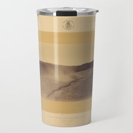 Geological Exploration of the Fortieth Parallel (1869) - Steamboat Springs, Nevada Travel Mug