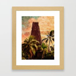 Fijian Temple Framed Art Print