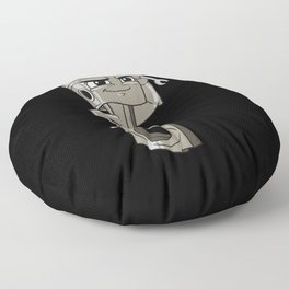 Funny Tough Engine Cylinder  Floor Pillow