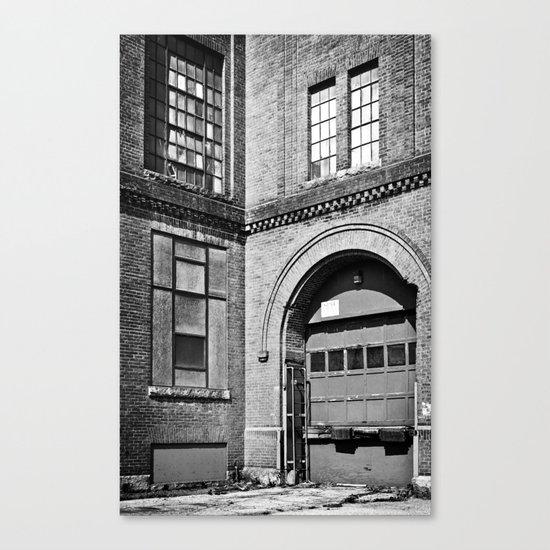 Mono Brick VI Canvas Print