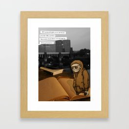 SMUG BASTARDS Framed Art Print