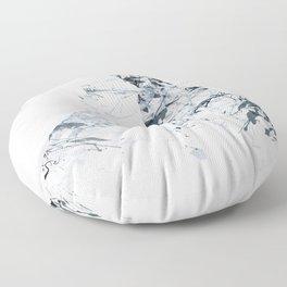 MATTERHORN MOUNTAINSPLASH grey Floor Pillow