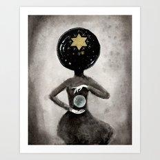 Star Hostess Art Print
