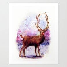 .Rudolph Art Print